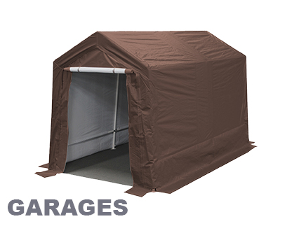 HERCULES 10X20 Enclosed Canopy Snow Load