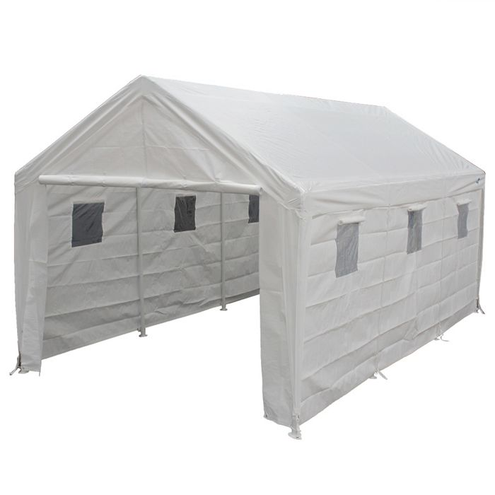 Hercules 10x20 Enclosed Canopy Snow Load
